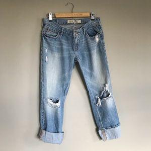 Hollister Distressed Boyfriend Jeans
